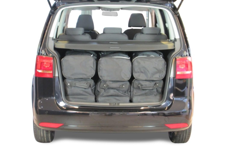vw touran i 1t car travel bags car. Black Bedroom Furniture Sets. Home Design Ideas